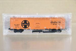 MICRO TRAINS MTL 52050 N GAUGE SANTA FE AT&SF 52' SFRD EXPRESS REEFER CAR 5033