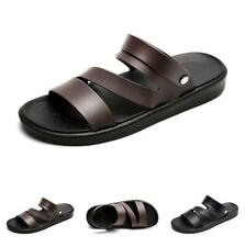 Summer Mens Beach Slingbacks Slippers Sandals Shoes Slip on Cut out Walking Chic
