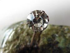 PIN è CRAVATTA VINTAGE 1920 Art Deco Zirconio Argento NUOVO/nuovo 5.5MM