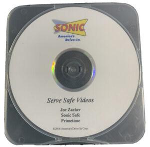 Sonic Drive In Serv Safe Videos Joe Zacher Sonic Safe Primetime 2006 DVD