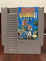 Dragon Warrior II 2 (Nintendo NES, 1990)  Authentic Tested Very Clean Copy