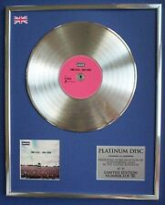 OASIS TIME FLIES  CD PLATINUM DISC LP VINYL