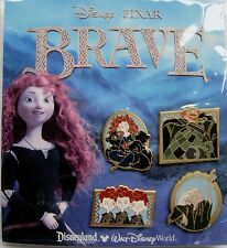 Disney Pins * Brave Booster Set