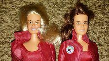 "2 Vintage Baywatch 12"" Dolls Action Figures Pamela Anderson"