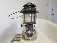 VINTAGE GREEN COLEMAN #236 - 299 Camping Propane Lantern Light Canada Tenting