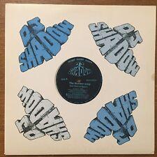 """DJ SHADOW 12"""" NUMBER SONG remix PAINKILLER rare CUT CHEMIST mo wax DEPECHE MODE"""