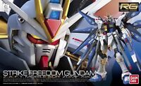 BANDAI RG 1/144 ZGMF-X20A STRIKE FREEDOM GUNDAM Model Kit Gundam SEED NEW Japan