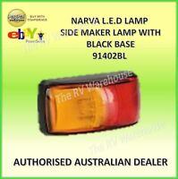 LED Side Marker Narva Red Amber Trailer Clearance LIght Lamp 12V 24V 91402BL Par