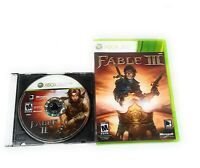 Fable 2 & Fable III for Xbox 360 Game Lot Bundle