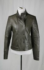 J Brand Woman Suede-paneled Leather Top Black Size M J Brand How Much Cheap Price yh4IA1A