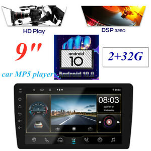 """9"""" Android 10.0 Multimedia 2+32G GPS Navigation BT MP5 Car Player Touch Screen"""