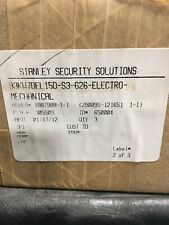 STANLEY SECURITY SOLUTIONS 93KW7DEL 15D-S3-626-RQE ELECTROMECHANICAL LOCK *NEW*