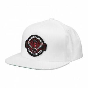 Lakai Skate Shoes Schuhe Kappe Cap Hat Independent Trucks Indy Snapback White