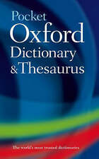 Pocket Oxford Dictionary and Thesaurus by Oxford Dictionaries (Hardback, 2008)