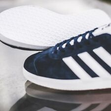 adidas Navy Blue Gazelle Classic 90s Mens Shoes Trainers Suede Retro SNEAKERS UK 9