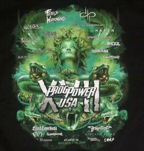 ProgPower USA 2016 Atlanta Fates Warning Ascendia Scar Symmetry T-Shirt 2XL