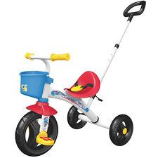 Chicco Triciclo U/GO +18m con asta di spinta, cintura di sicurezza e cesto VOLANTE