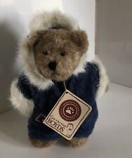 Boyds Bears Inga B Burrbruin PlushTeddy Bear Blue Snowsuit Teddybear Winter