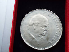 More details for 1965 crown coin issued to commemorate the death of sir winston churchill