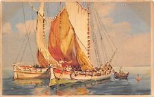 BF37203 france painting sailing vessel    Boat Ship Bateaux