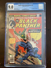 JUNGLE ACTION 24- BLACK PANTHER | MARVEL— First Appearance of Windeagle. CGC 9.0