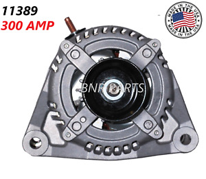 300 AMP 11389 Alternator Dodge RAM NEW High Output HD 5.7L 09-16 1500 2500 3500
