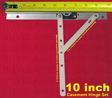 "10"" Truth® Hinge Set for Casement Windows (Pair)"