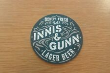 Innis & Gunn - Lager Beer - Beermat -
