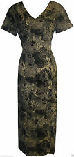 Calf Length Polyester Cocktail Floral Dresses for Women