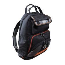 NEW Klein 55475 Black Tradesman Pro Tool Zipper Storage Carrying Gear Backpack