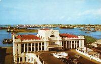 Vintage CEYLON Postcard, Colombo Harbour 20R