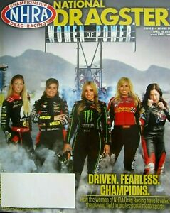 NHRA WOMEN OF POWER E ENDERS L PRITCHETT C FORCE B FORCE A SAMPEY NAT DRAGSTER