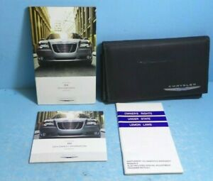 14 2014 Chrysler 300 owners manual/user guide with Navigation
