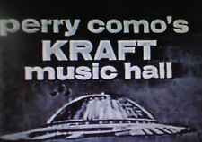 THE PERRY COMO SHOW KRAFT MUSIC HALL 52 EPISODES ON DVD