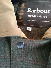 Men's XL Barbour Loden Check Shooting Jacket Immaculate Condition