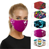 5X Cotton Face Mask Adjustable Mouth Mask Double Layered Washable Reusable UK