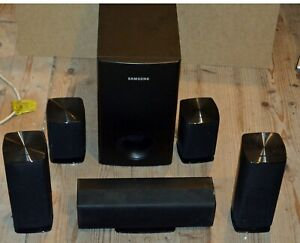 Samsung 5.1 Sound system: PS-FZ310  PS-RZ310 PS-CZ310 PS-WZ310 with cables