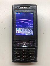 Sony Ericsson K800i - Velvet black (Three) Mobile Phone