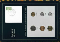Coin Sets of All Nations Burma UNC 1966-1986 UNC Scarce Set