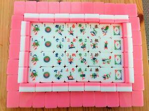 Mahjong set, 160 TILES INCLUDING 20 FLOWERS, c1960's