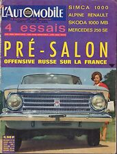 L'AutOmobile July 1965 Coupe BMW 2000,Renault French Auto Magazine 051617nonDBE