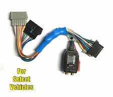 Add An Amp Amplifier Adapter Interface to OEM Factory System for some Dodge/Jeep