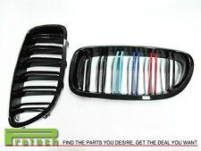M5 Style M Tri 3 Color w/Gloss Black Front Grille BMW F10 Sedan 528i 535i 550i