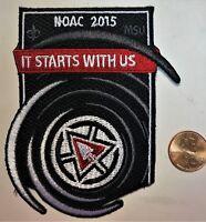 ORDER OF THE ARROW OA 100th CENTENNIAL BSA 2015 NOAC DELEGATE POCKET PATCH COOL
