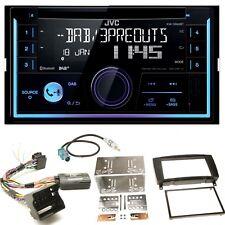 JVC KW-DB93BT USB MP3 Bluetooth Einbauset für Mercedes CLK W209 Facelift