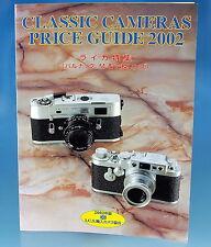 Classic Cameras Price Guide 2002 Zeitschrift japanese magazine Leica - (25879)
