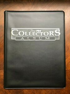 Ultra-Pro Collectors Album (10 Pages of Nine Pocket)