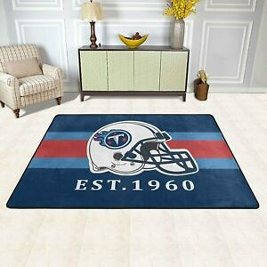 Tennessee Titans Fans Area Rugs Carpet Floor Mat Home Decor Modern Flannel Rugs
