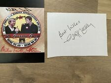 More details for signed nicholas lyndhurst and mfs photo.