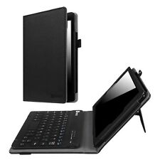 For Amazon Fire 7 / HD 8 / HD 10 7th 2017 Wireless Bluetooth Keyboard Case Cover